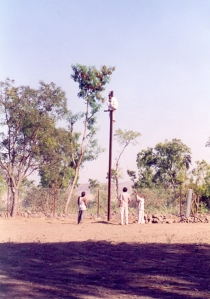 The stell pole