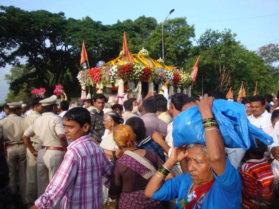 Sant Dyaneshwar's Palki arrives
